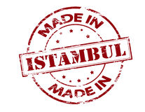 Made in Istambul Royalty Free Stock Photo