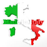 Made in italy Royalty Free Stock Photos