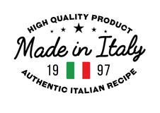 Made in Italy stamp Royalty Free Stock Images