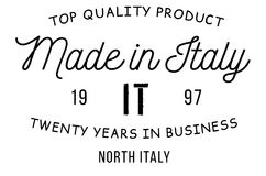 Made in Italy stamp Royalty Free Stock Photos