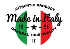 Made in Italy stamp Royalty Free Stock Image