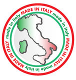 Made in italy symbol. Project Stock Photography