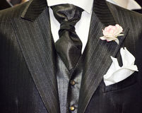 Made in Italy: tailored suits for men Stock Images