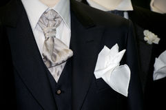 Made in Italy: tailored suits for men Stock Image