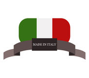 Made in italy Royalty Free Stock Images