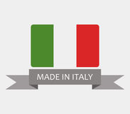 Made in italy Royalty Free Stock Image