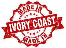 Made in Ivory Coast seal Royalty Free Stock Photos