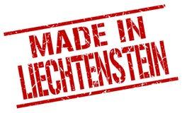 Made in Liechtenstein stamp Royalty Free Stock Photos