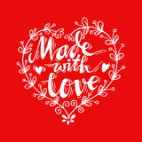 Made with Love Stock Photo