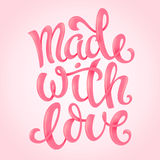 Made with love Stock Photos