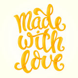 Made with love Royalty Free Stock Image