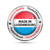 Made in Luxembourg, Premium quality, trusted brand Royalty Free Stock Images