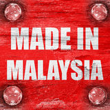 Made in malaysia Royalty Free Stock Image
