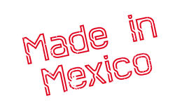 Made In Mexico rubber stamp Stock Photography