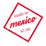 Made In Mexico rubber stamp Royalty Free Stock Image
