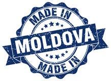 Made in Moldova seal Stock Photos