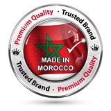 Made in Morocco. Premium quality,Trusted brand Stock Photography