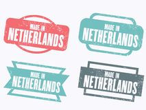 Made in Netherlands Royalty Free Stock Image