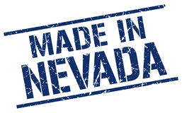 Made in Nevada stamp Royalty Free Stock Photo