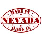 Made in Nevada. Stamp with text made in Nevada inside,  illustration Royalty Free Stock Photos