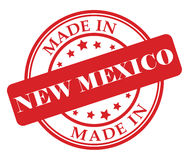 Made in New Mexico stamp Royalty Free Stock Photos