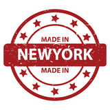 Made in New York Royalty Free Stock Image