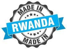 Made in Rwanda seal Royalty Free Stock Photo