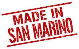 Made in San Marino. Stamp Stock Image