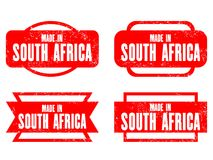 Made in South Africa Royalty Free Stock Photos