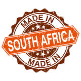 Made in South Africa vintage stamp Stock Photography
