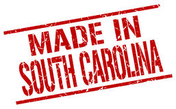Made in South Carolina stamp Royalty Free Stock Photography