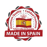 Made in Spain, Premium Quality Royalty Free Stock Image