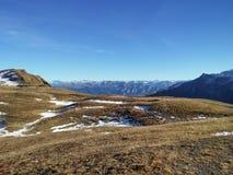 Beautiful Swiss mountains, fresh air Royalty Free Stock Photos