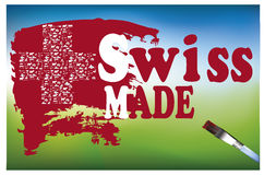 Made in switzerland Royalty Free Stock Photos