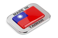 Made in Taiwan Stock Photography