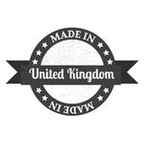Made in U.K badge. Made in United Kingdom Royalty Free Stock Images