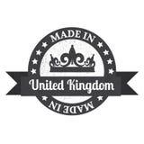 Made in U.K badge. Made in United Kingdom Stock Photo