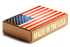 Made in the U.S.A. Royalty Free Stock Photography