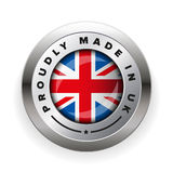Made in UK badge vector Stock Image