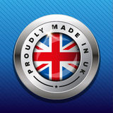 Made in UK badge vector Royalty Free Stock Photo