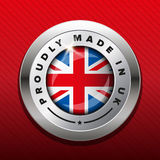 Made in UK badge vector Stock Photo