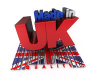 Made in UK, quality Stock Image