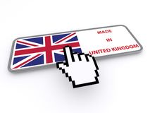 Made in United Kingdom Royalty Free Stock Photography