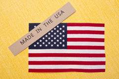 Made in the USA Stock Image
