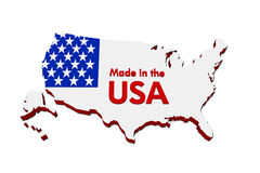 Made in the USA Royalty Free Stock Photo