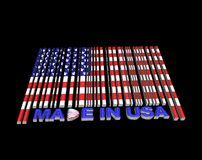 Made in USA. Royalty Free Stock Photo