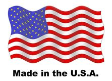 Made in the USA royalty free illustration