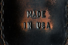 Made in usa Stock Image