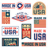 Made in USA Royalty Free Stock Images