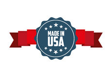 Made in usa design Royalty Free Stock Photos